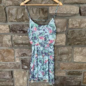 Everly Floral Tank Mini Dress, S